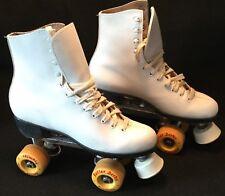 New listing Vintage c.1980s Ladies ROLLER DERBY No. 985 Lace-Up PREMIER Skates - Sz. 8M