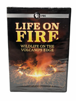 Life on Fire: Wildlife on the Volcano's Edge 2 DVD Set 6 hrs Documentary Sealed