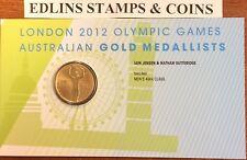 2012 $1 London Olympic Games Australian gold medallists- sailing men's 49er
