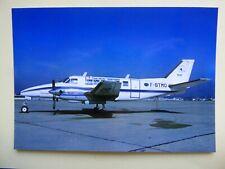 AIR ANJOU TRANSPORT   BEECH 99  F-BTMO  /   collection vilain N° 1283