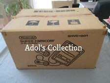 >> NINTENDO SFC SUPER FAMICOM NEW SYSTEM CONSOLE JAPAN FACTORY CARTON OF 5!  <<