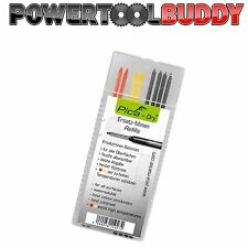 PICA DRY REFILLS - MIXED COLOURS (4 GRAPHITE, 2 RED, 2 YELLOW)