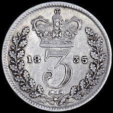 More details for william iv. threepence 3d, 1835.