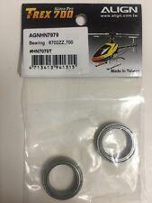 NEW Align HN7070 T-Rex 700N 6702ZZ Bearing Set (2)