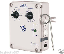 C.A.P. AIR-1 Atmosphere Controller, Temp & Humidity, 15A@120vac SAVE $ BAY HYDRO