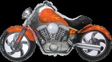 MOTORCYCLE CUSTOM ORANGE HARLEY DAVIDSON STYLE MOTORBIKE BIKE LARGE BALLOON