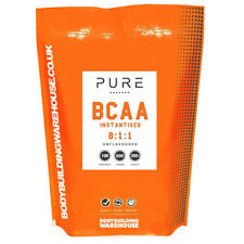 Pure Amino Acids BCAA Powder 8:1:1 Instantised Intra Workout 250g - 1kg Free P&P