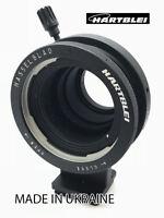 Hartblei Adapter Hasselblad V Lens to Sony E NEX Camera w/ Tripod 360 Rotate