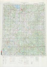 Russian Soviet Military Topographic Maps - PSKOV (Russia), 1:500 000, ed. 1988