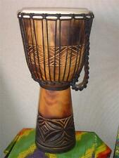 SALE ~ 20 x 11 Deep Carved Djembe Bongo Drum M3 + FREE COVER