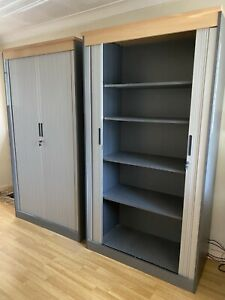 Home Office Tambour units. For Storage Of Stationery & Other Office Equipment.