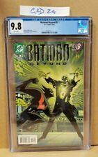 Batman Beyond #3 (1999 Series) CGC 9.8 CERT 3712112004