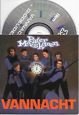 PATER MOESKROEN - Vannacht CD SINGLE 2TR Dutch Cardsleeve 2001 RARE!