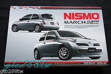 "FUJIMI 1/24 scale Nissan March ""NISMO"" S-Tune (Micra K12) JDM model kit"