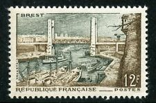 STAMP / TIMBRE FRANCE NEUF N° 1117 ** PORT DE BREST