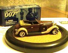 James Bond 007 JL Johnny Lightning LE Draxs Hispano Suiza Car #1 Moonraker VHTF
