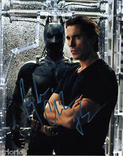 REPRINT - CHRISTIAN BALE #3 Dark Knight Batman autographed signed photo
