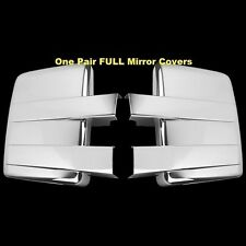 FOR 2009~2014 Ford F150 F-150 Chrome Full Towing Mirror Covers