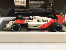 "Minichamps 537 871801 McLaren TAG MP4-3 A.Prost ""Full Livery"" F1 1987 1:18"