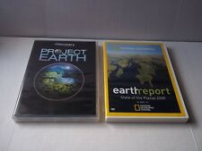 Project Earth (Discovery) & Earth Report: State of the Planet 2009 (NG). Preown.