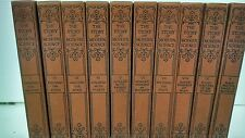 """10 Volume Set """"The Story of Modern Science"""" by Henry Smith Williams 1923  1st Ed"""