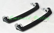 Classic Austin Mini New Pair of Interior Door Pull Handle with Chrome End Pieces