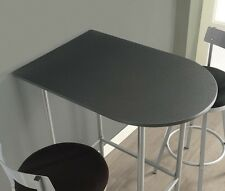 Small Counter Height Dining Table Only Space Saver Bar Apartment Kitchen Pub End