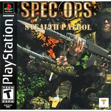Spec Ops: Stealth Patrol For PlayStation 1 PS1 Shooter 3E