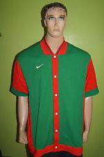 Nike Team Sports camiseta camisa manga corta chaqueta talla xxlt 90 década de años