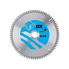 OX TCTA-2163060 Alu/Plastic/Laminate Circular Saw Blade 216/30mm 60 Teeth TCG