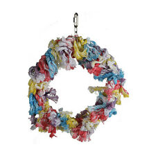 PARROT OR LARGE BIRD TOY TO STIMULATE PLAY & ACTS AS ANTI PLUCKING TOY