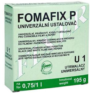 FOMA FOMAFIX P 975g Universal Powder Acidic Fixer for B & W Films/Papers i