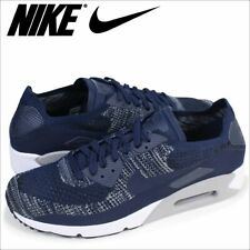 brand new bedc2 d6a80 Nike Air Max 90 Ultra 2.0 Flyknit Mens 875943-401 Navy Running Shoes Size 11