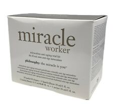 Philosophy Miracle Worker Miraculous Anti-Aging Trial Kit (4 PCS) New Sealed