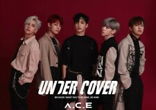ACE A.C.E [UNDER COVER] 2nd Mini Album CD+POSTER+Photo Book+Card+Sticker SEALED
