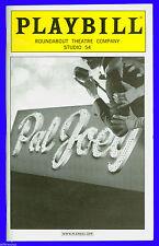 Playbill + Pal Joey + Matthew Risch , Martha Plimpton , Stockard Channing