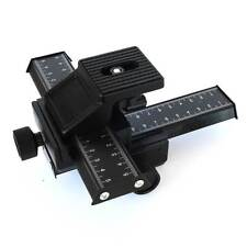 Slider MICROMETRICA 4 way Macro Focusing Rail