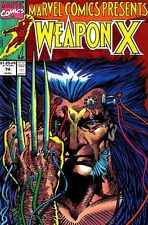 MARVEL COMICS PRESENTS #74 VOL.1 (WOLVERINE) VF/NM WEAPON X