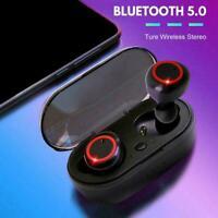 K18 tws bluetooth kopfhörer 5,0 wireless mini bass headset ohrh kopfh B3C5