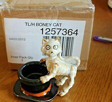 2012 Yankee Candle BONEY BUNCH BONEY CAT BONSEY Tea Light Holder ~New in Box~