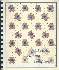 VERSAILLES MO VINTAGE WALMART EMPLOYEES & FRIENDS TUMMY TEMPTERS COOK BOOK *RARE