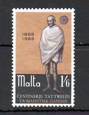 Malta 1969 Gandhi MNH set S.G. 415