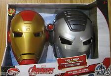 The Avenges Iron Man War Machine Hero Mask Marvel Disney 15 Sounds & Phrases