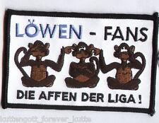 """Anti 1860 Aufnäher """"Löwen Fans..""""  Kutte Weste Fan Patch Block Kurve + neu +"""