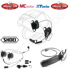 CELULAR LÍNEA AURICULARES PRO SONIDO SHOEI ideal para INTERPHONE DE GT-AIR F5 MC
