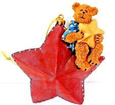 """Boyd's Bears Bear On A Star 3 1/2"""" Tall #257403 Nib"""