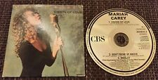 Mariah Carey - VISION OF LOVE - 3 Track UK Cardsleeve Single CD 1990