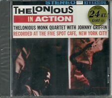 Monk, THELONIOUS Quartet Thelonious in action in 24 Carati oro CD Riverside NUOVO