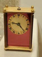 Vintage Jaeger Lecoultre 8 Day Reuge Music Alarm Clock