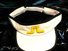 Brand New J. Lindeberg Magnetic Golf Adjustable Size Visor Cap Hat